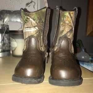 Realtree Camo Toddler boots